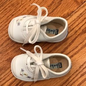 NWOT Keds Leather Sneakers, White